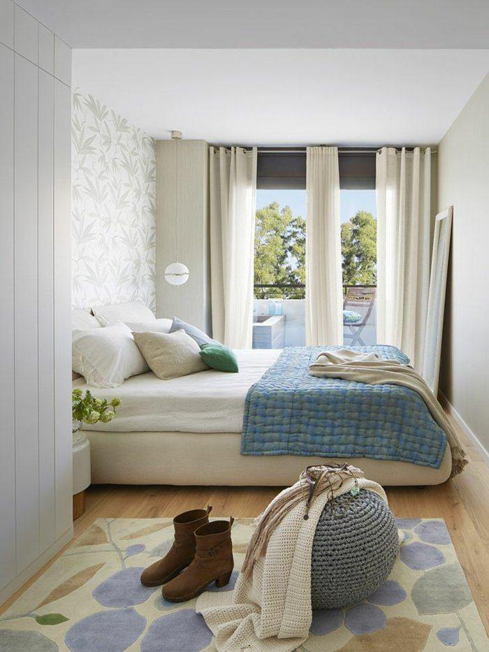 dormitorio diseño detalles zapatos elementos puff