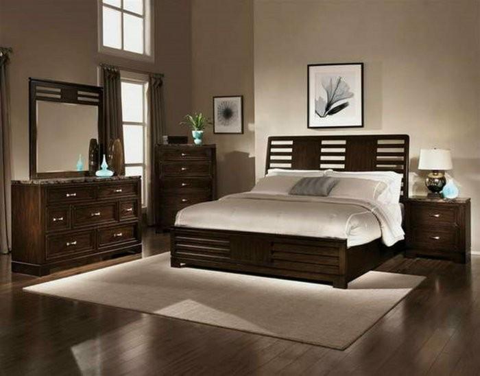 dormitorio estilo moderno suelo laminado
