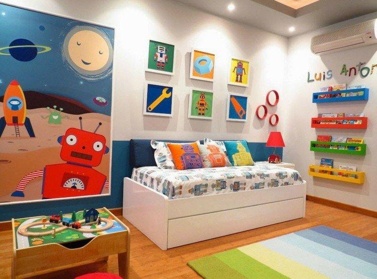 dormitorio niños zona juego deco