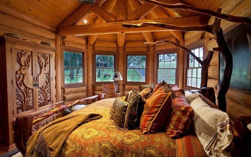 dormitorio-rustico-cama-madera-opciones