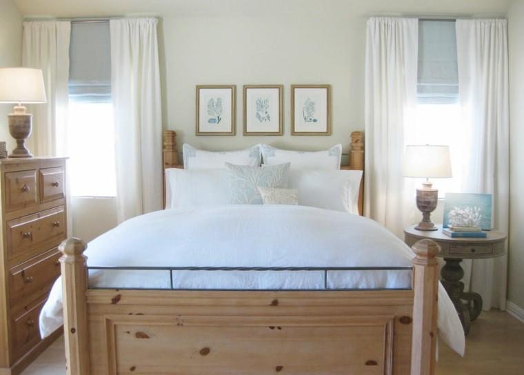 dormitorio pequeño decoración clásica