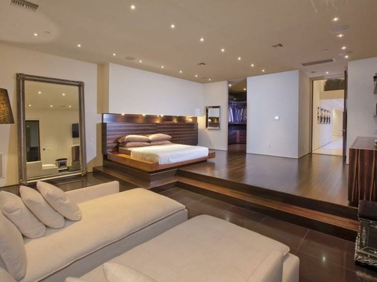 dormitorio dseño espejo grande