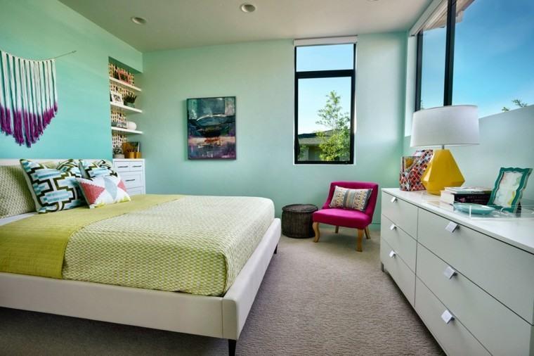 dormitorios matrimonio modernos armario blanco ideas