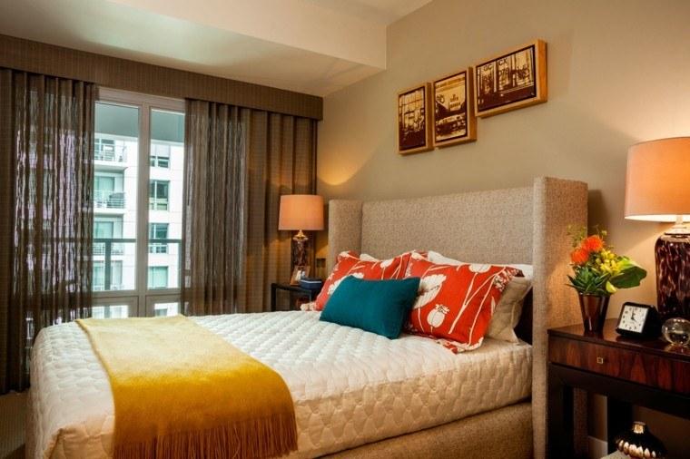 dormitorios matrimonio modernos cama grande ideas