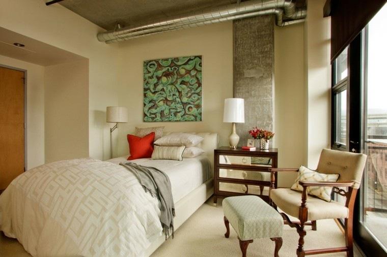 Dormitorios matrimonio modernos clasicos vintage y m s for Sillas para habitacion matrimonio