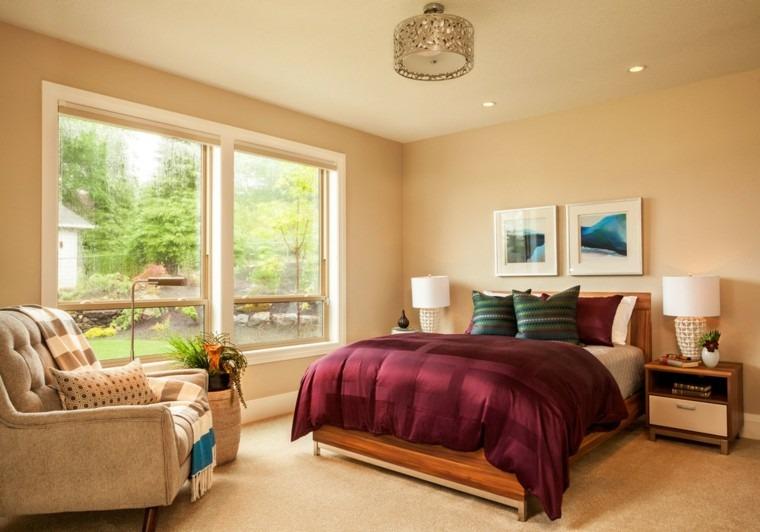 dormitorio matrimonio moderno sillon comodo ideas