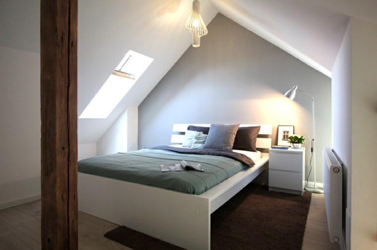 dormitorio matrimonio moderno techo abovedado ideas