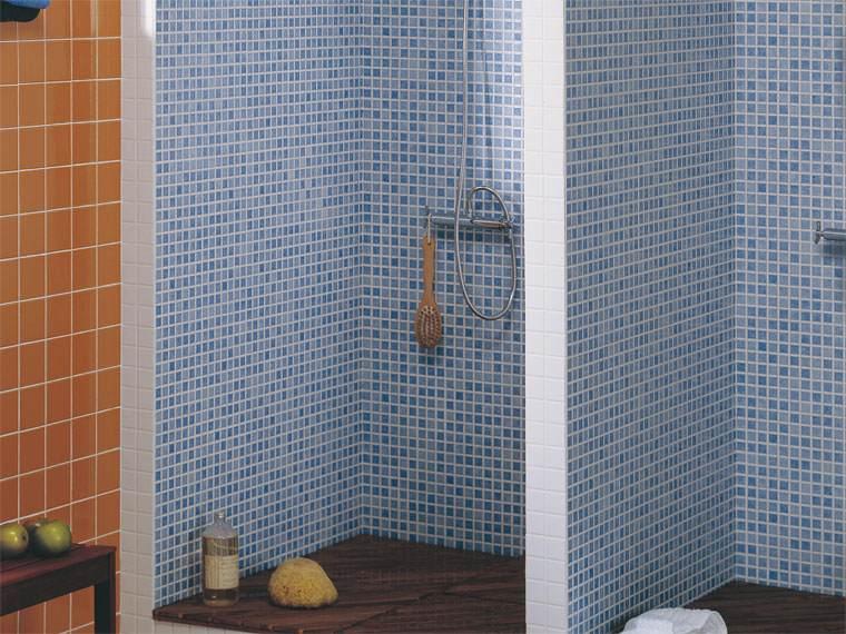 Azulejos Baño Azules:Gresite baños – revestimientos que crean ambientes