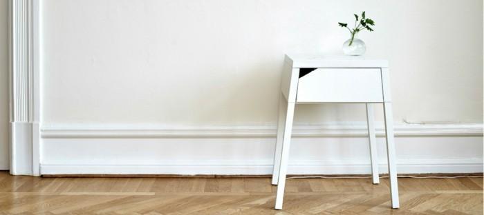 elegante mesas decorado fresca blanco