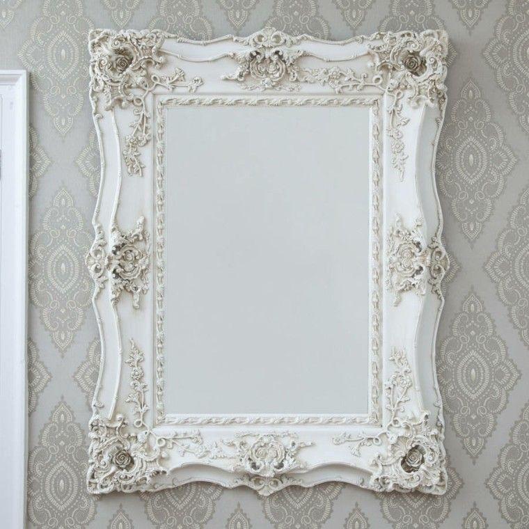 Espejos vintage de estilo rom ntico m s de 30 dise os for Espejos de pared vintage