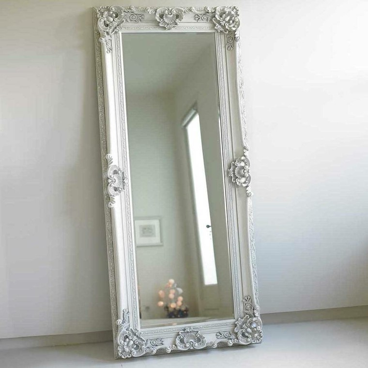 Espejos vintage de estilo rom ntico m s de 30 dise os for Espejos grandes con marco