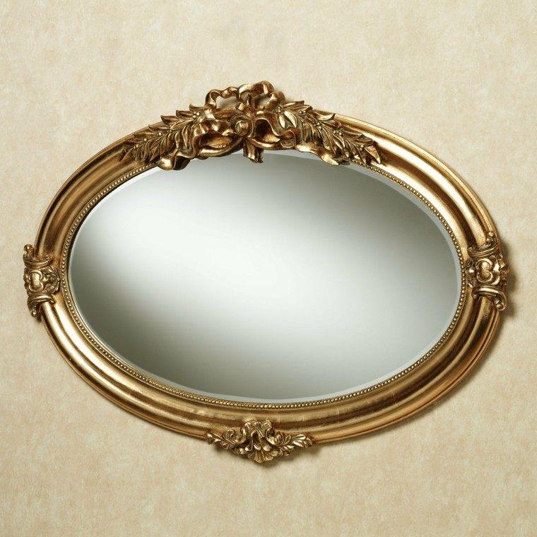espejo vintage bonito marco