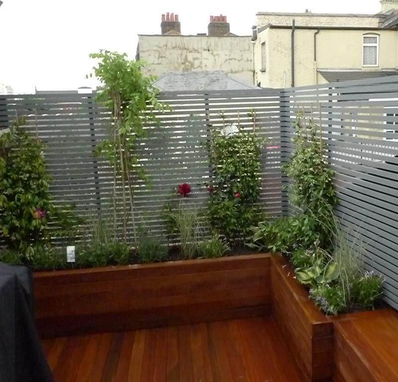 terraza revestida laminado madera