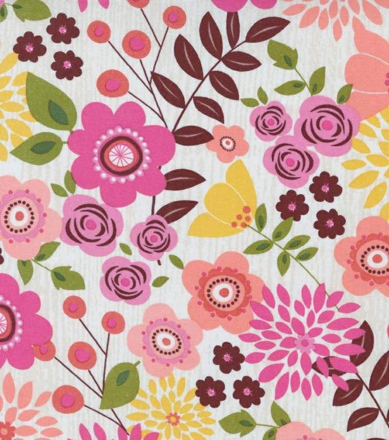 estampados colores flores deco rosa