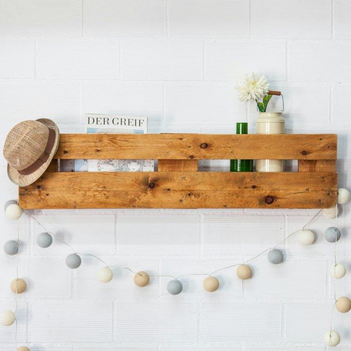 estante pequeño pallet madera