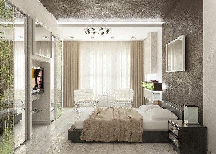 habitacion estilo contemporaneo gris