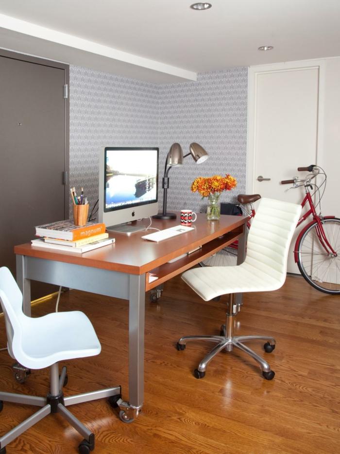 estudio despacho suelo laminado madera