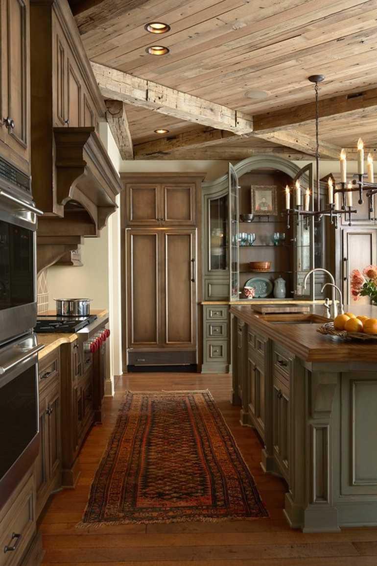 estupenda cocina retro rustica
