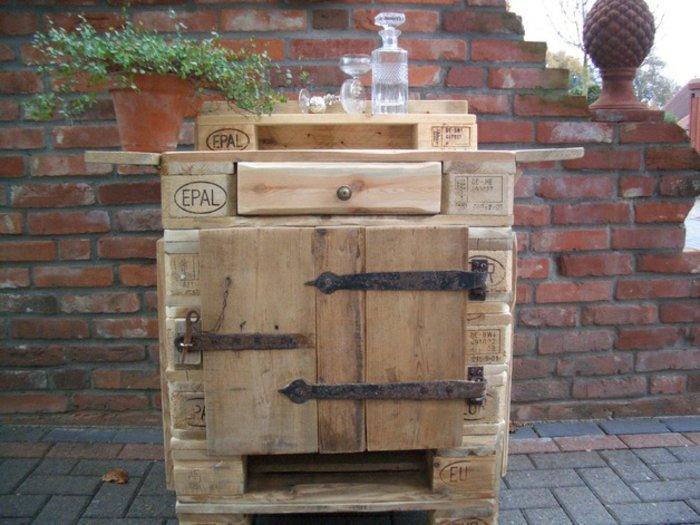 palet de madera para decorar su hogar 100 ideas. Black Bedroom Furniture Sets. Home Design Ideas