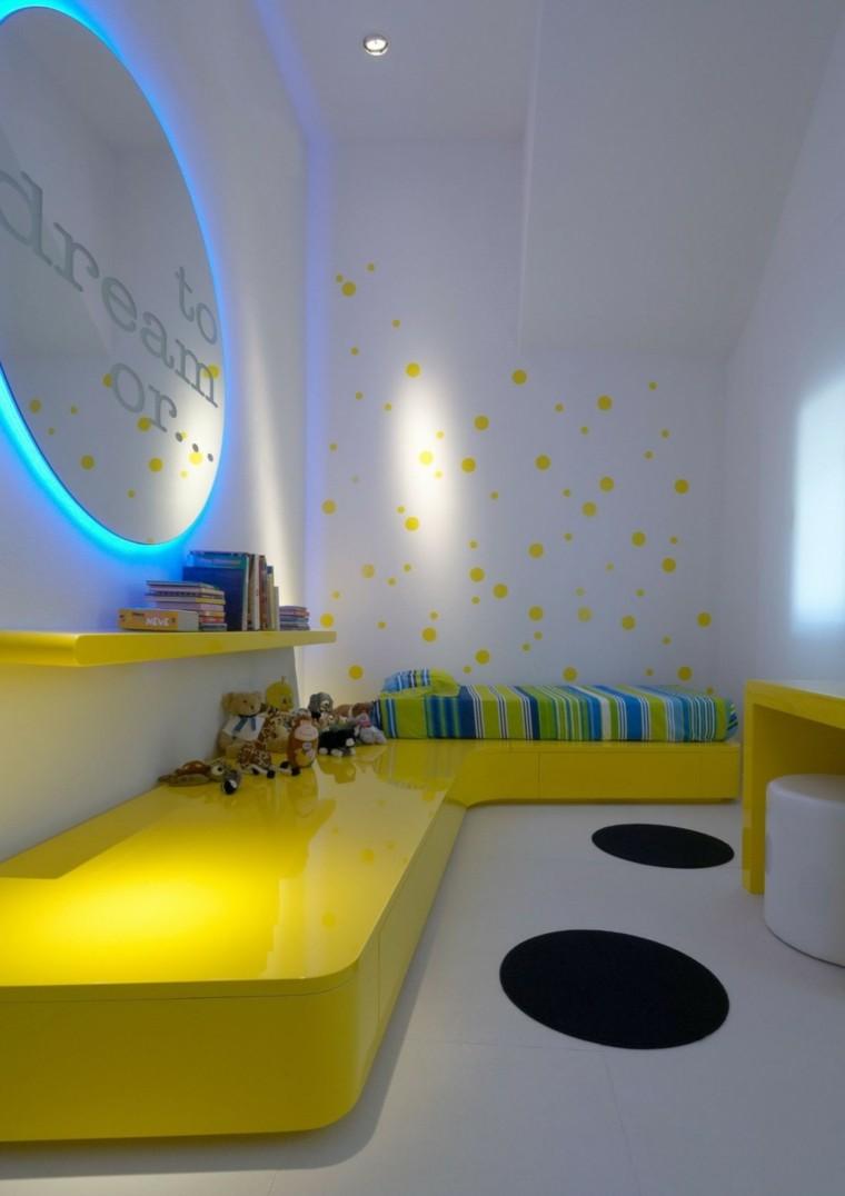 Dormitorio infantil moderno cincuenta dise os geniales for Dormitorio ninos diseno