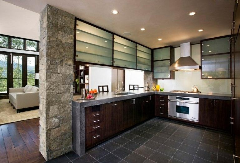 cocina moderna diseño lujosa