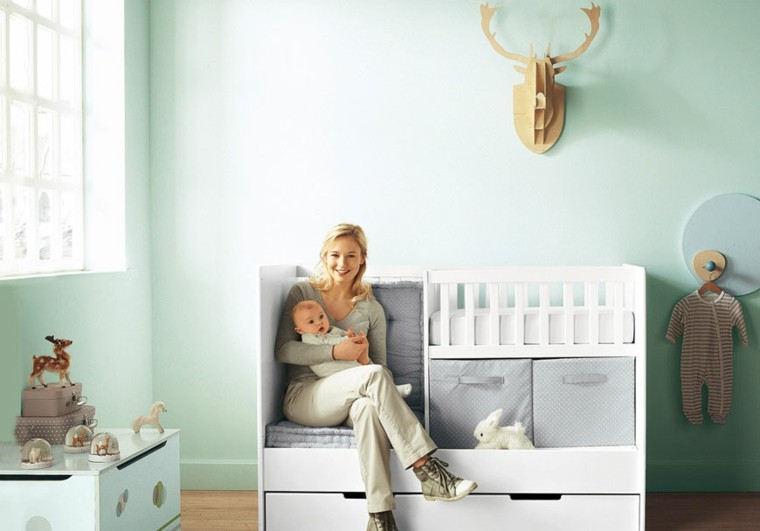 estupenda decoración cuarto bebe