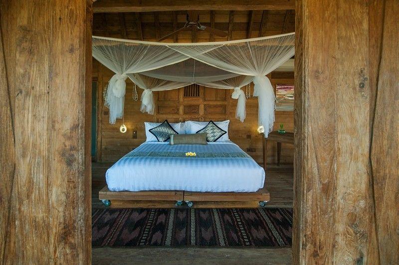 estupenda habitacion estilo tropical