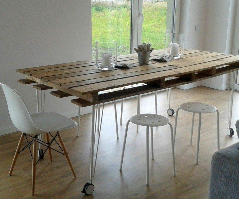estupenda mesa comedor diseño moderno