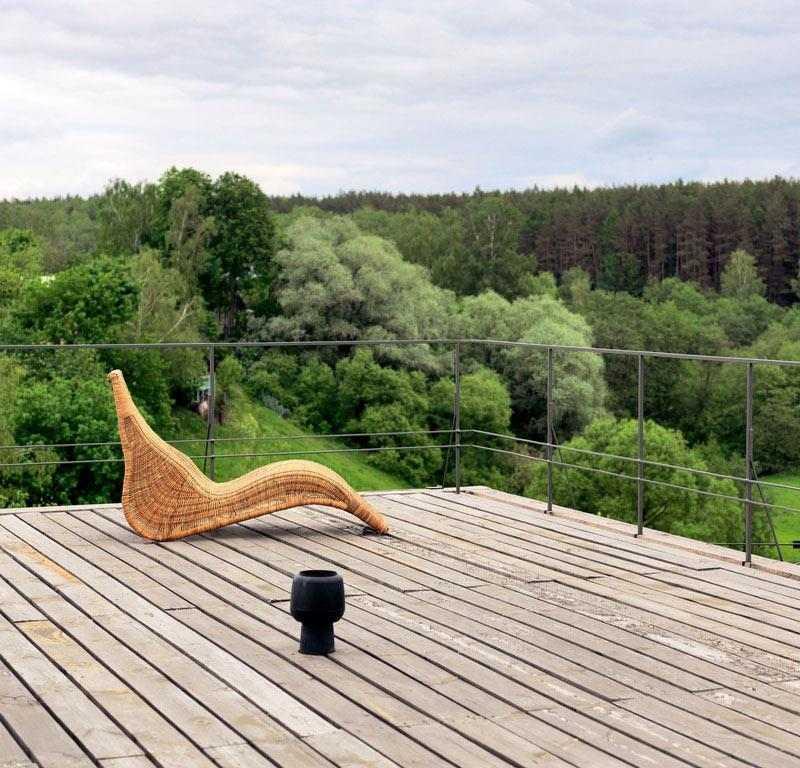 decoracion de terrazas minimalista