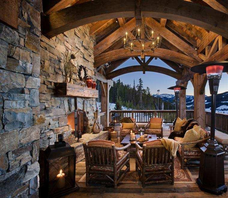 Terrazas cubiertas decoracion y dise o 48 ideas for Como hacer una terraza rustica