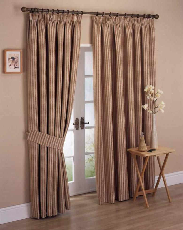 Cortinas de sala y comedor colores y estampados - Estilos de cortinas ...