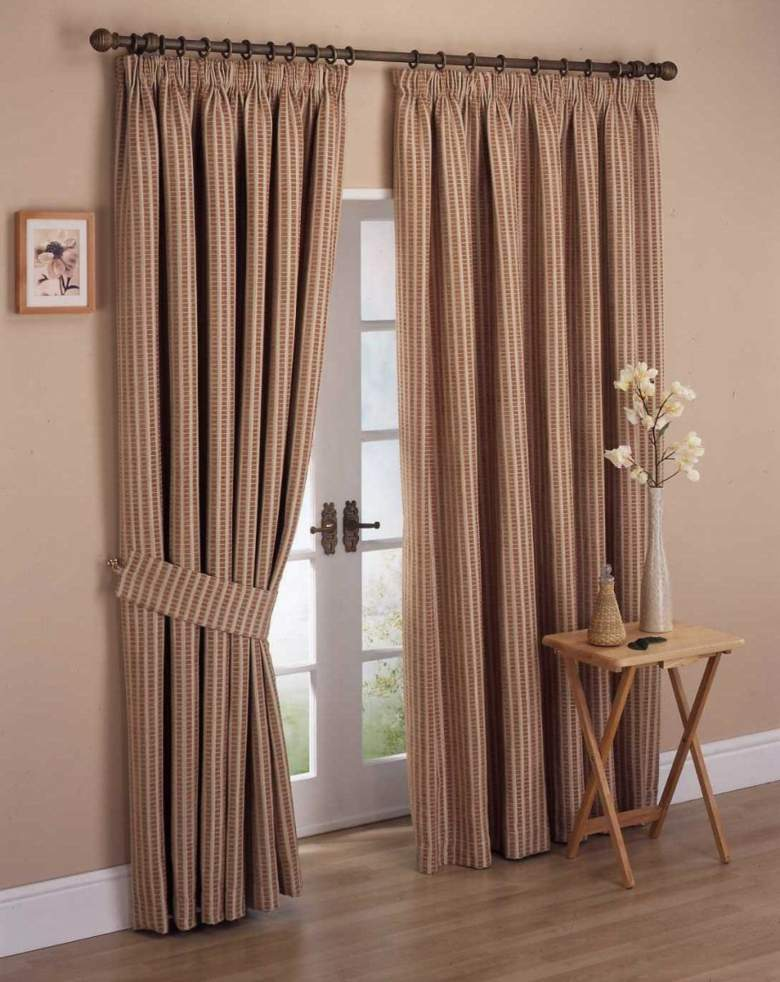 estupendas cortinas diseño estilo clásico