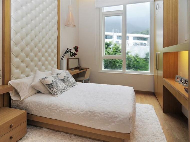 estupendo diseño cabecero cama capitoné