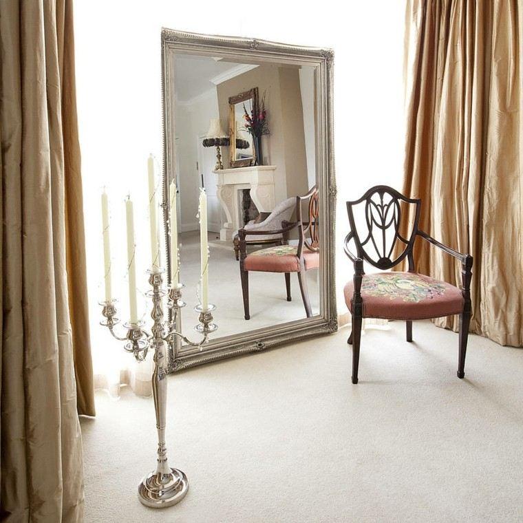 estupendo diseño espejo retro grande