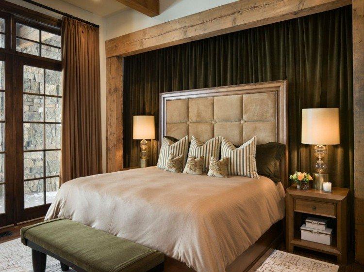 estupendo diseño habitacion cama
