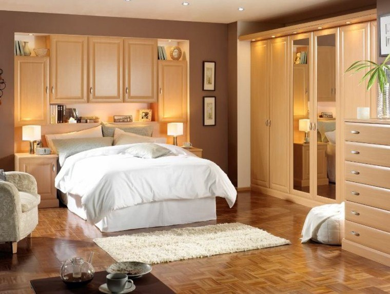 estupendo diseño habitaciones madera pequeñas