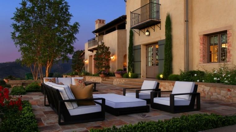 estupendo diseño muebles terraza modernos