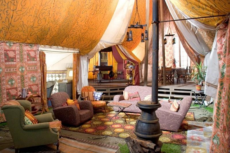 Decoracion etnica para interiores artesan a y color for Decoracion arabe interiores