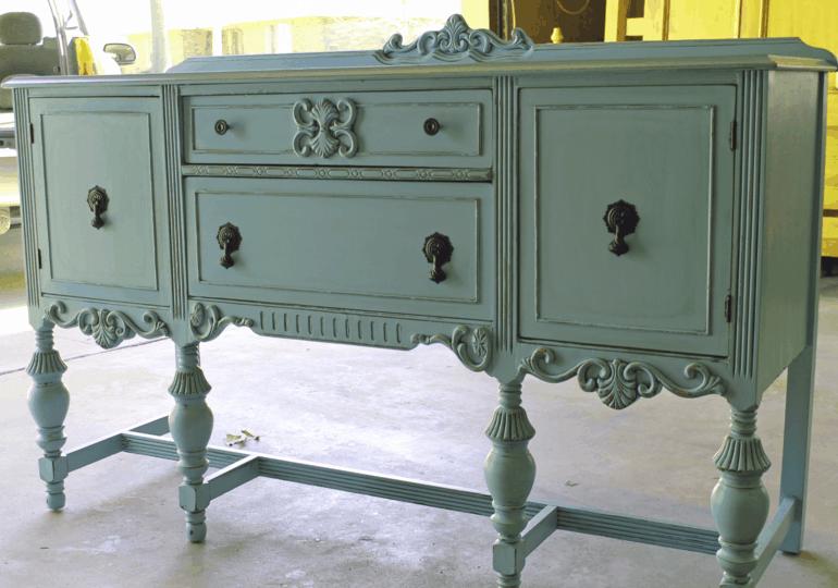 estupendo diseño mueble estilo retro