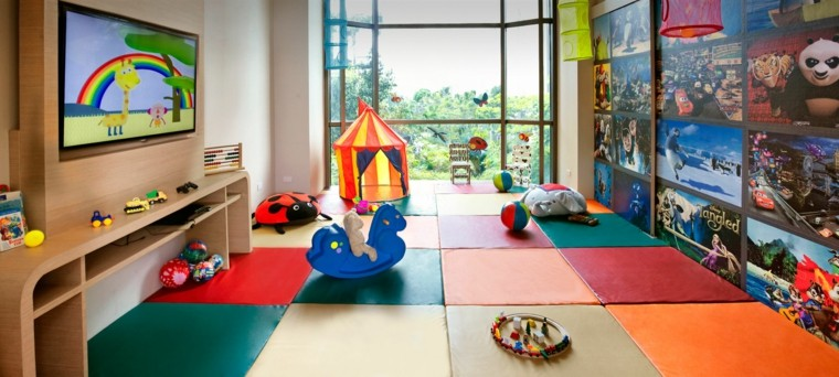 estupendo diseño deco zona infantil