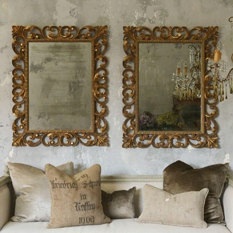 Espejos vintage de estilo rom ntico m s de 30 dise os for Espejos pequenos vintage