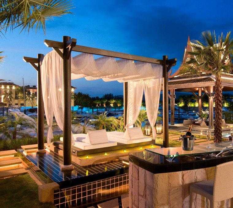 estupoendo diseño terraza pérgola lujosa