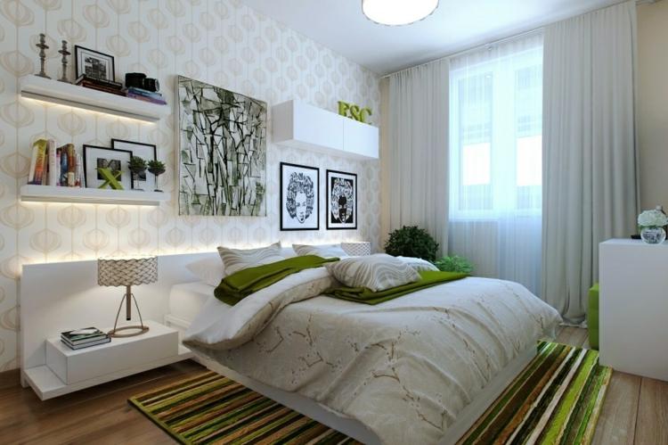 flores dormitorios muebles candelabro cintas