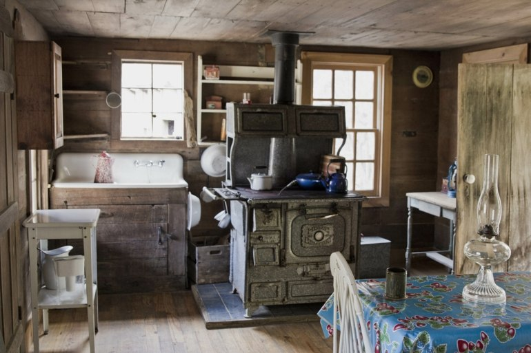 foto cocina diseño simple rustica