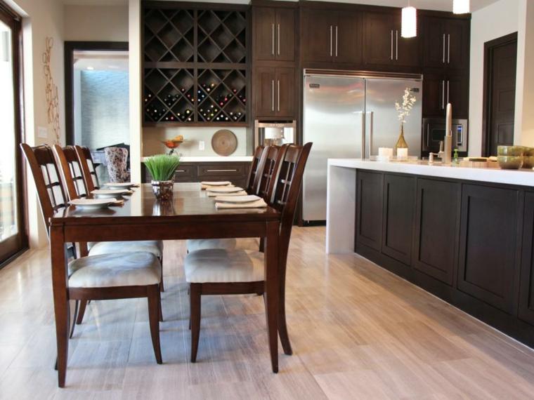 Fotos de mueble de cocina aprovechando el espacio for Muebles de cocina vibbo