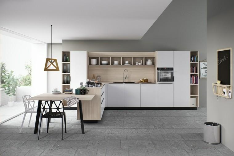 fotos de mueble de cocina cojines lamparas