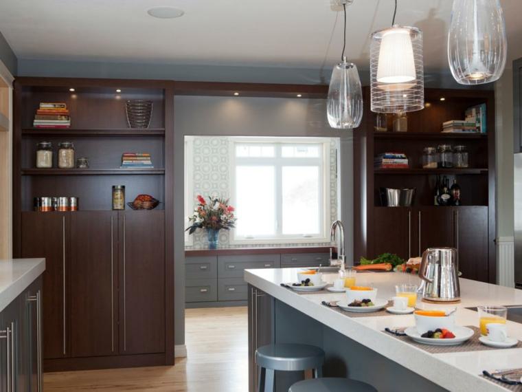 fotos de mueble de cocina contemporaneos elegantes