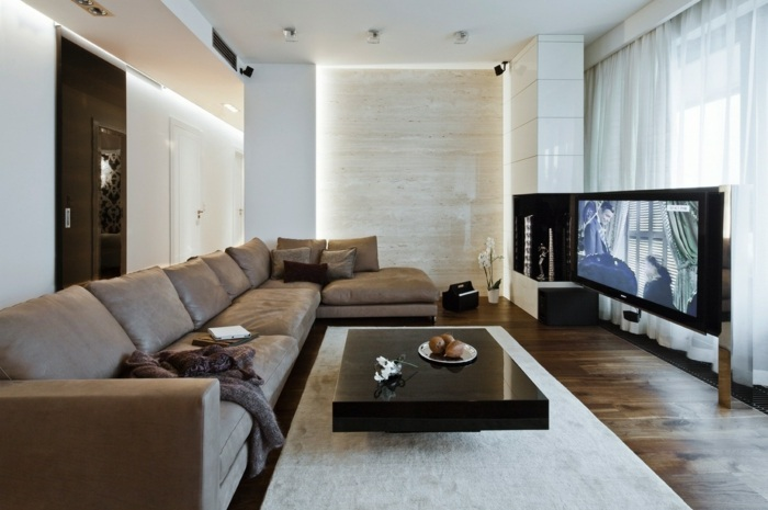 fotos de salones modernos ideas fresco alfombras