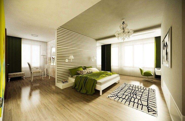 fresca detalles solido madera verdes