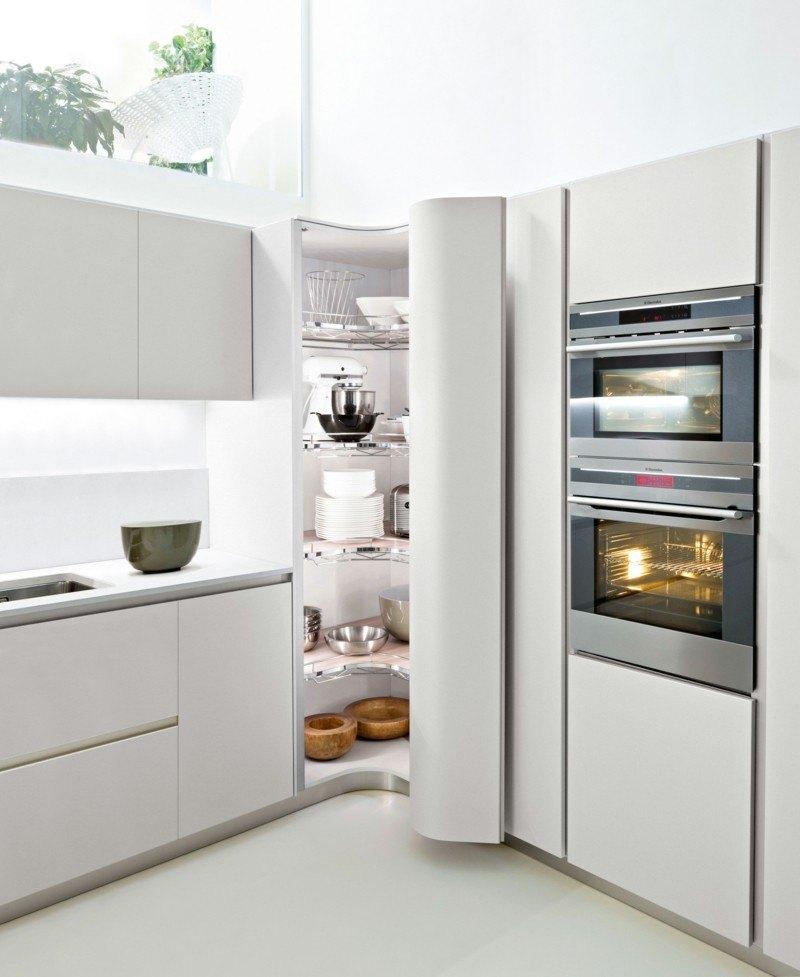 frigorífico cocina forma esquina